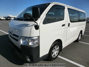 Used 2016 TOYOTA HIACE VAN BH554523 for Sale
