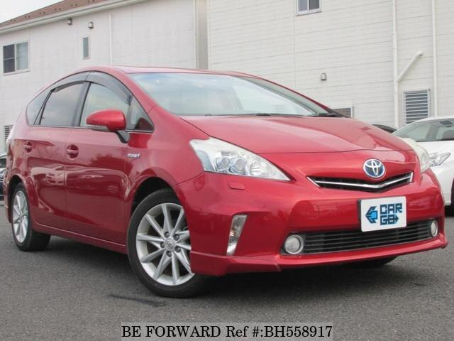 Used 2011 TOYOTA PRIUS ALPHA BH558917 for Sale