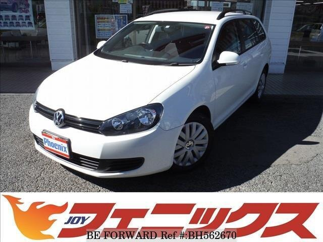 Used 2010 VOLKSWAGEN GOLF VARIANT BH562670 for Sale