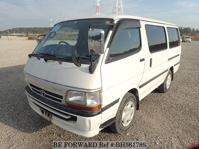 Used 2003 TOYOTA HIACE VAN BH561789 for Sale