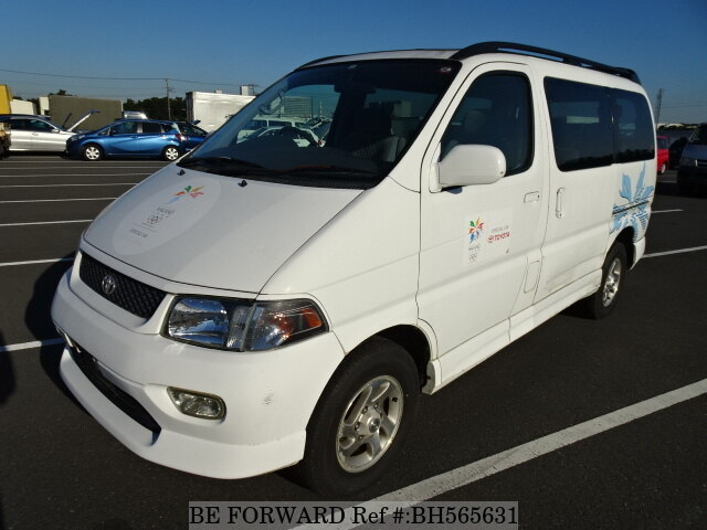Used 1997 TOYOTA REGIUS WAGON BH565631 for Sale