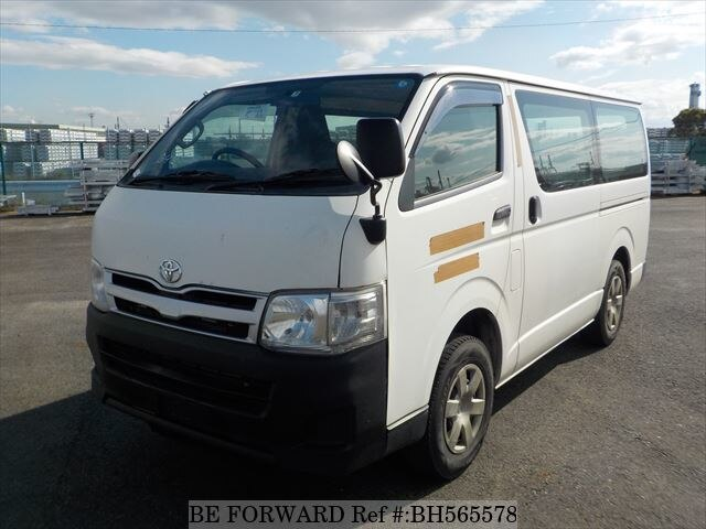 Used 2011 TOYOTA REGIUSACE VAN BH565578 for Sale