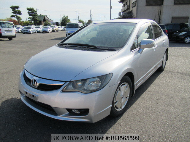 Used 2010 HONDA CIVIC HYBRID BH565599 for Sale