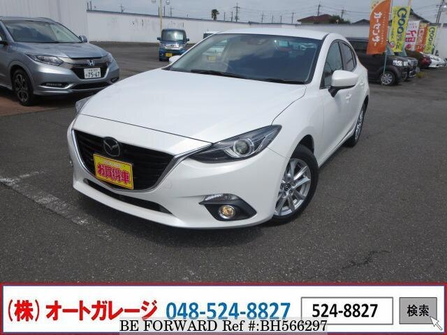 Used 2015 MAZDA AXELA BH566297 for Sale