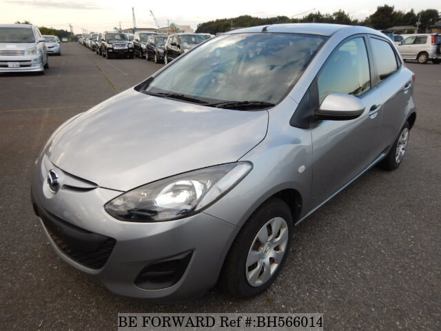 Used 2011 MAZDA DEMIO BH566014 for Sale