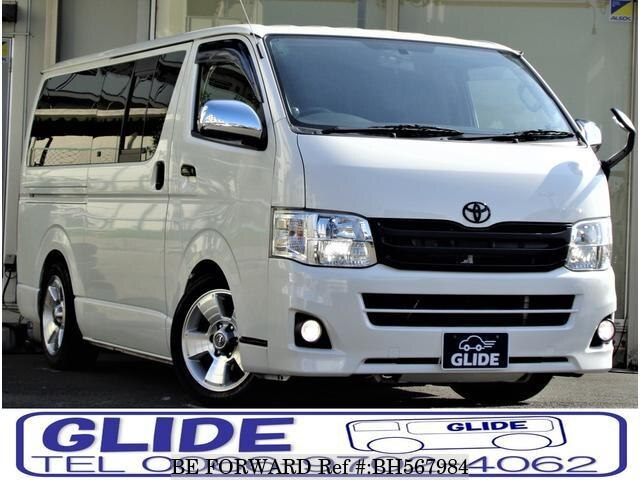 Used 2012 TOYOTA HIACE VAN BH567984 for Sale
