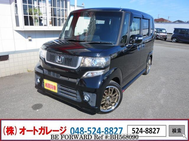 Used 2013 HONDA N BOX BH568090 for Sale