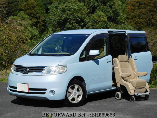 Used 2005 NISSAN SERENA BH569666 for Sale