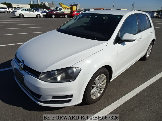Used 2014 VOLKSWAGEN GOLF BH567326 for Sale