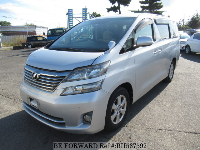 Used 2010 TOYOTA VELLFIRE BH567592 for Sale