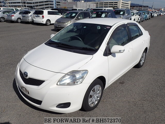 Used 2010 TOYOTA BELTA BH572370 for Sale