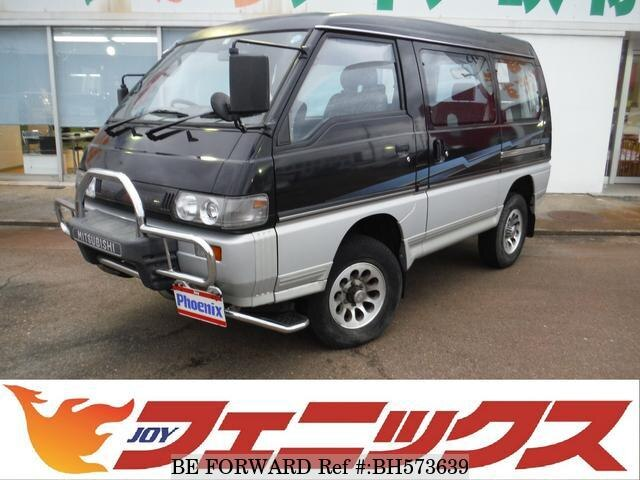Used 1997 MITSUBISHI DELICA STARWAGON BH573639 for Sale