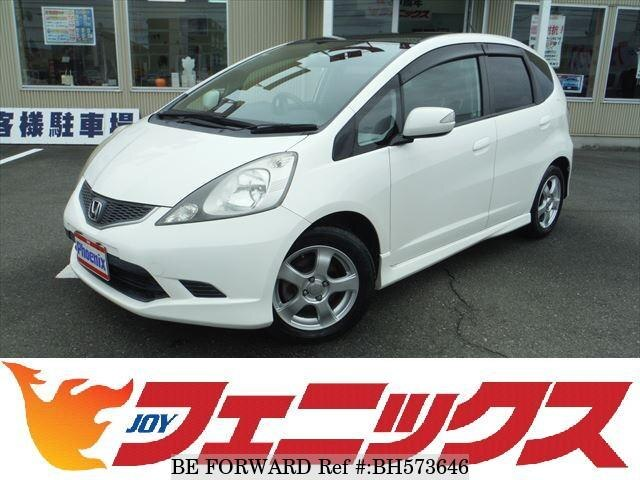 Used 2007 HONDA FIT BH573646 for Sale