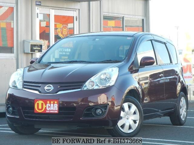 Used 2011 NISSAN NOTE BH573668 for Sale