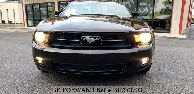 Used 2012 FORD MUSTANG BH573703 for Sale