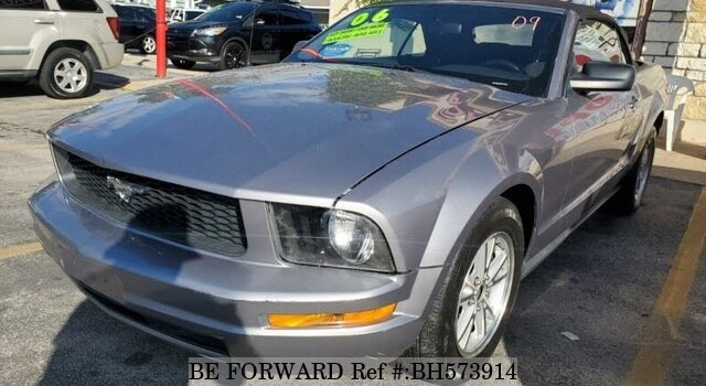 Used 2006 FORD MUSTANG BH573914 for Sale