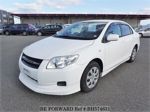 Used 2010 TOYOTA COROLLA AXIO BH574631 for Sale