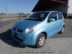 Used 2012 TOYOTA PASSO BH574645 for Sale