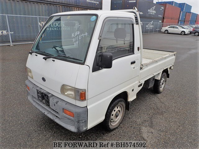Used 1996 SUBARU SAMBAR TRUCK BH574592 for Sale
