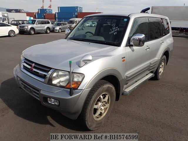 Used 1999 MITSUBISHI PAJERO BH574599 for Sale