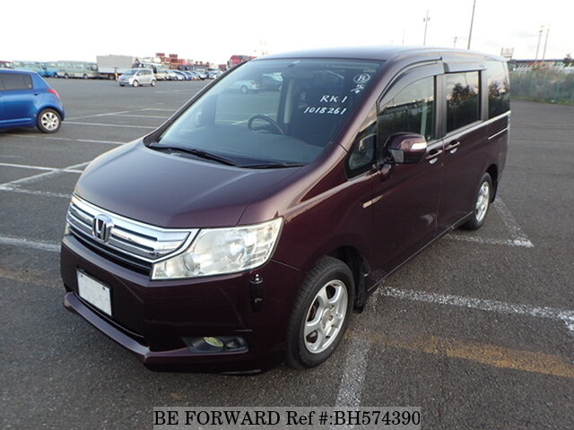 Used 2010 HONDA STEP WGN BH574390 for Sale