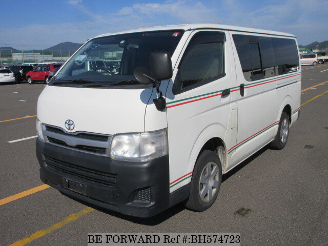 Used 2012 TOYOTA HIACE VAN BH574723 for Sale