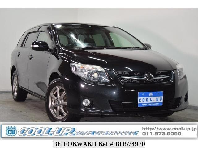 Used 2010 TOYOTA COROLLA FIELDER BH574970 for Sale