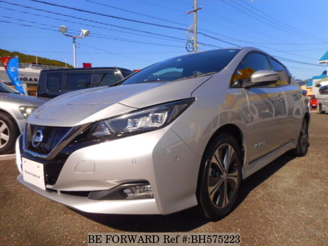 Used 2018 NISSAN LEAF BH575223 for Sale