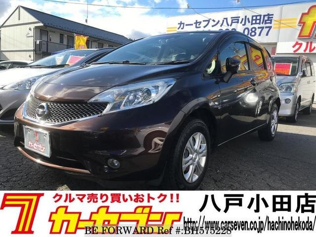 Used 2014 NISSAN NOTE BH575228 for Sale