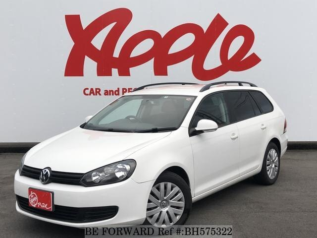Used 2010 VOLKSWAGEN GOLF VARIANT BH575322 for Sale