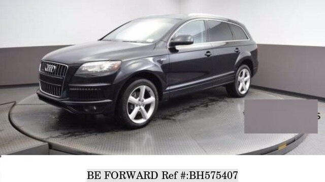 Used 2013 AUDI Q7 BH575407 for Sale
