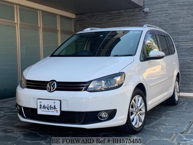Used 2011 VOLKSWAGEN GOLF TOURAN BH575455 for Sale