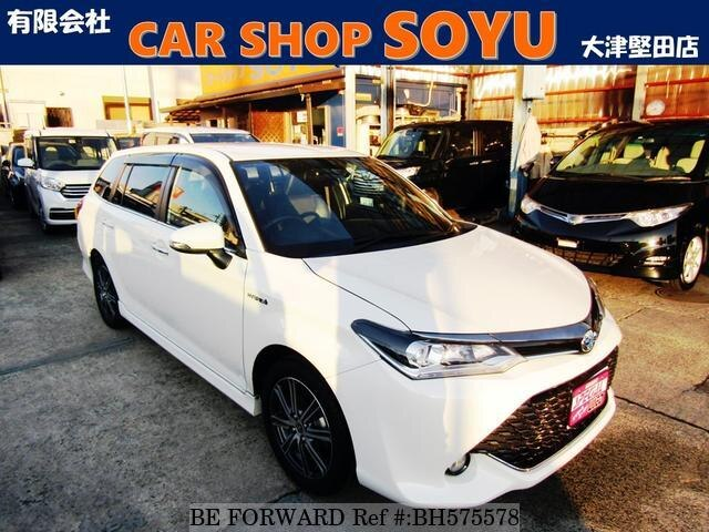 Used 2017 TOYOTA COROLLA FIELDER BH575578 for Sale