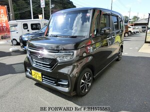 Used 2017 HONDA N BOX BH575583 for Sale