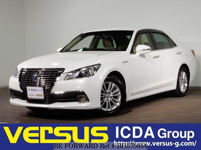 Used 2013 TOYOTA CROWN HYBRID BH575654 for Sale