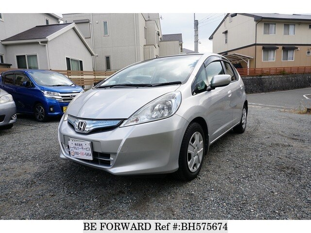 Used 2012 HONDA FIT HYBRID BH575674 for Sale
