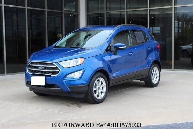 Used 2018 FORD ECOSPORTS BH575933 for Sale
