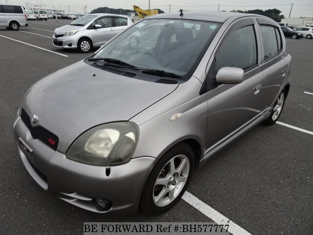 Used 2001 TOYOTA VITZ BH577777 for Sale