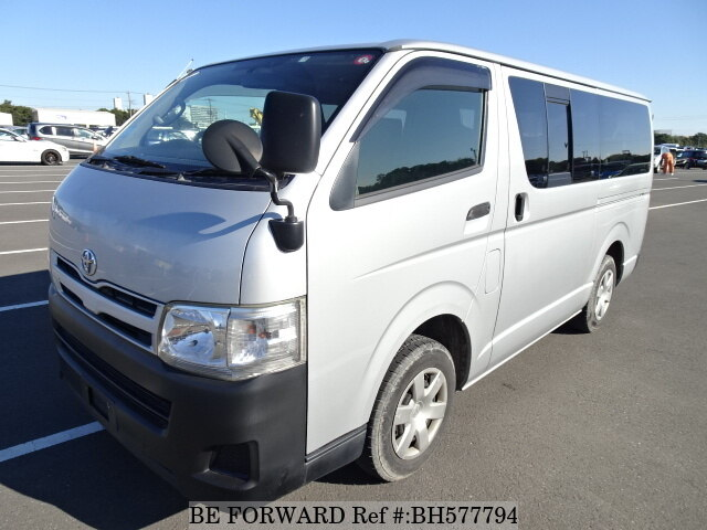 Used 2011 TOYOTA HIACE VAN BH577794 for Sale