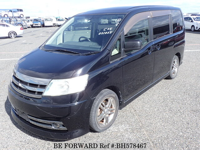 Used 2005 NISSAN SERENA BH578467 for Sale