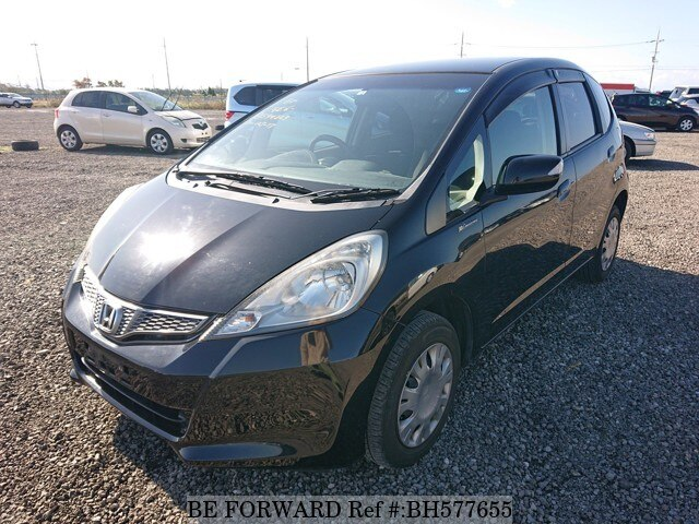 Used 2012 HONDA FIT BH577655 for Sale