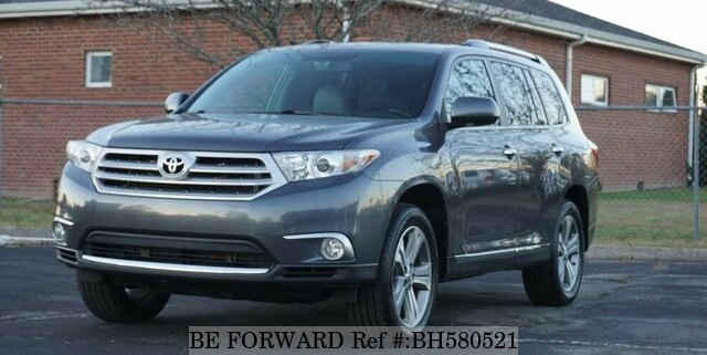 Used 2012 TOYOTA HIGHLANDER BH580521 for Sale