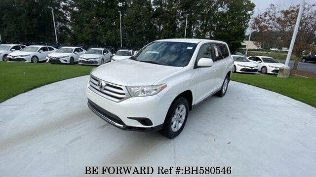 Used 2013 TOYOTA HIGHLANDER BH580546 for Sale