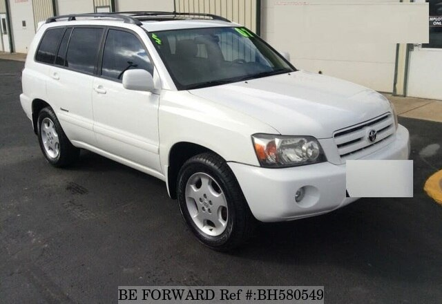 Used 2007 TOYOTA HIGHLANDER BH580549 for Sale