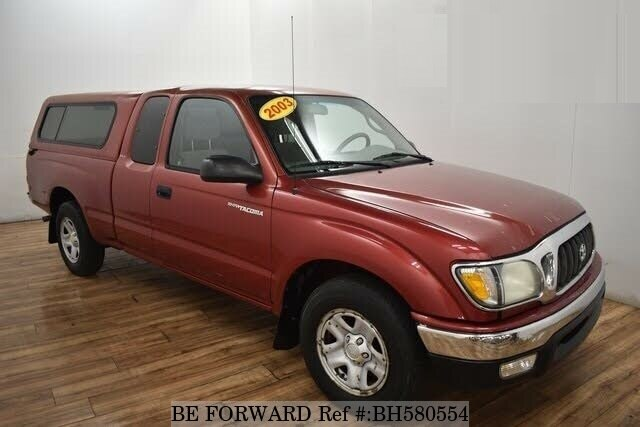 Used 2003 TOYOTA TACOMA BH580554 for Sale