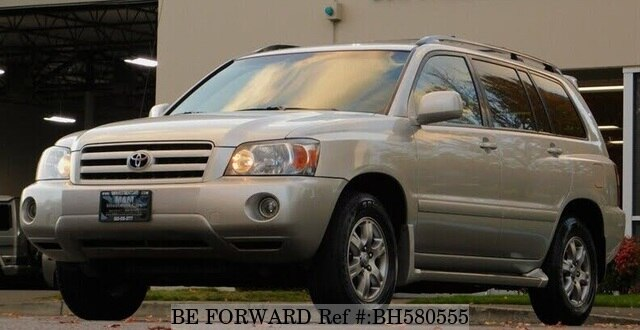 Used 2007 TOYOTA HIGHLANDER BH580555 for Sale