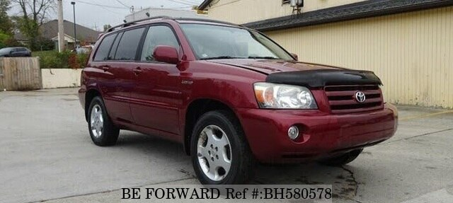 Used 2004 TOYOTA HIGHLANDER BH580578 for Sale