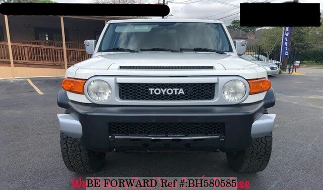 Used 2010 TOYOTA FJ CRUISER BH580585 for Sale