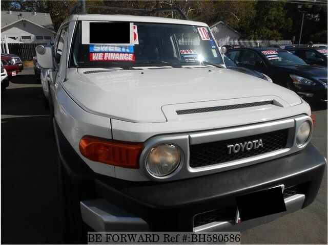 Used 2010 TOYOTA FJ CRUISER BH580586 for Sale