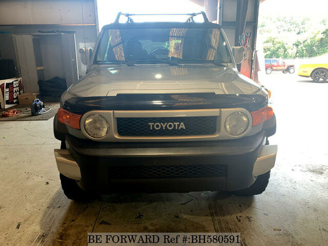 Used 2011 TOYOTA FJ CRUISER BH580591 for Sale
